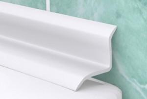 Плинтус для ванной комнаты