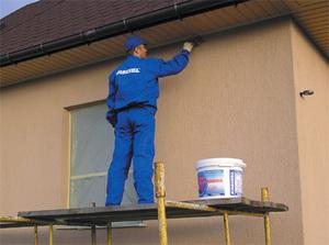 фасадные краски по бетону купить