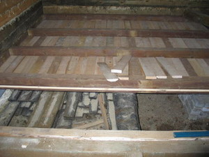 Конструкция деревянного пола