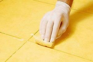 как правильно затирать керамическую плитку