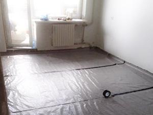Как залить теплый пол в частном доме