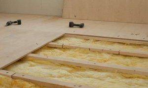 Толщина фанеры под ламинат на деревянный пол